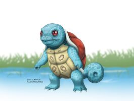 007 Squirtle by CamusAltamirano