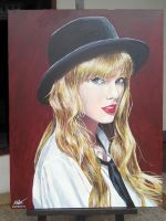 Taylor Swift painting by Fandias