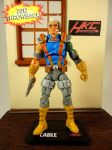 Custom Marvel Universe Cable X-men Animated Style  by hunterknightcustoms