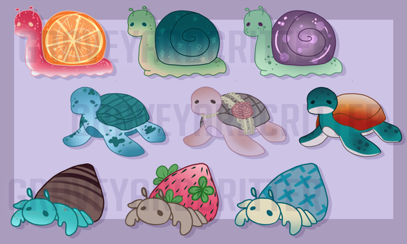 Cleverly Cute Critters - [8/9 OPEN} by graveyardcritter