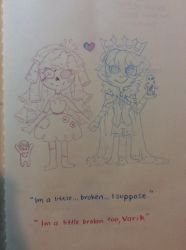 [TraDoodle]: A little broken... by SimplyDefault