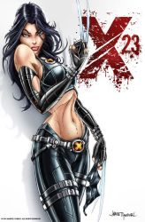 X-23 Pinup by jamietyndall