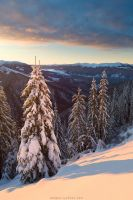 Sunrise on Barvinok Mountain by Sergey-Ryzhkov