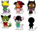 Mixed Breed ADOPTABLES by DragonEyeMcCree