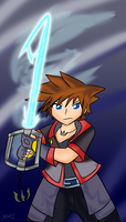 Sora: Lightsaber Keyblade by Xero-J