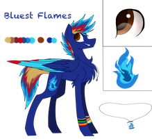 Blue Flames Reference Sheet by BluestFlames