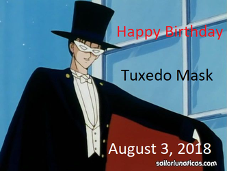 Happy Birthday, Tuxedo Mask by Pikachu-Train