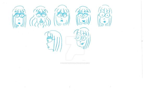PEPPER  EXPRESSIONS by cranberry0806