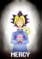 YGOtale Crossover: Yuugi by Gimmickry