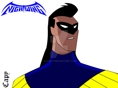 Early 90's Nightwing - Animated Version by ElCapy