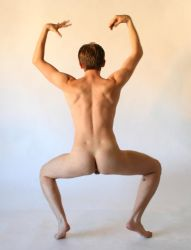 male gesture nude 5 by TheMaleNudeStock