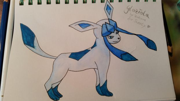 Glaceon by ZukorraHale