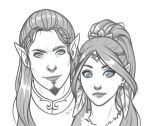 Arlenas and Sethi by Lylenn
