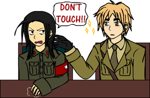 APH: Don't Touch by thingy-me-jellyfis