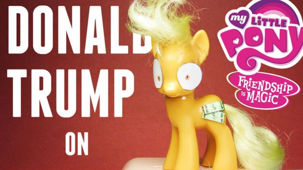 MLP- DONALD TRUMP by MidnightRarity