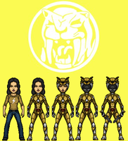 Yellow Ranger (MMPR) by KingCozy7