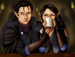 Critical Role: Keep Drinking, Sis by Banjelerp