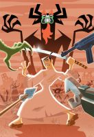 Samurai Jack Colored by bushiboy