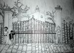 Cemetery Gates by JimagineL
