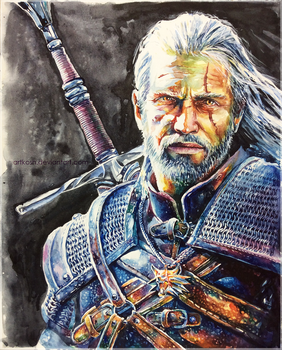 Geralt_WildHunt by ArtKosh