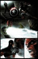 Captain America page 3 by JPRart