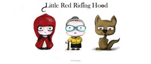 little red riding hood by inoxdesign