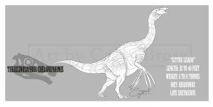 Therizinosaurus cheloniformis by BlueCea