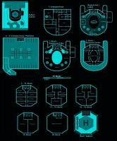 Shadowrun Hotel Floorplan (German) by Iridias89