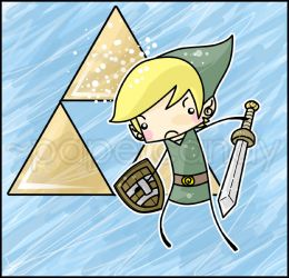 'I'm here, Zelda' by papercandy