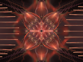 The Flowering of Life - Apophysis Challenge 155 by catelee2u
