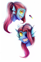 Fish Lady by Laser-Pancakes