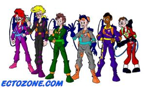 Ghostbusters--Power Pack Color by Ectozone