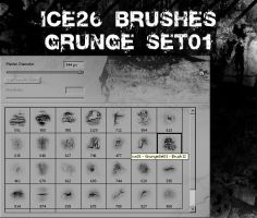 Grunge Set 01 by ice26