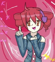 Kasane Teto (in MS Paint!) by TaiyoPrower