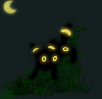 Umbreon by AbyssinalPhantom