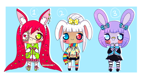 Bunny Adopts [CLOSED] by hello-planet-chan