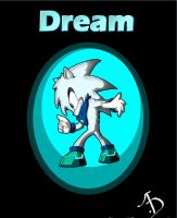 Dream the hedgehog by AbsoluteDream
