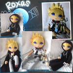 Roxas doll and figure with seasalt ice cream by Miikage