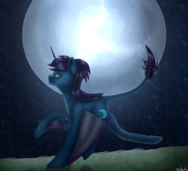 Into the night by Endilia