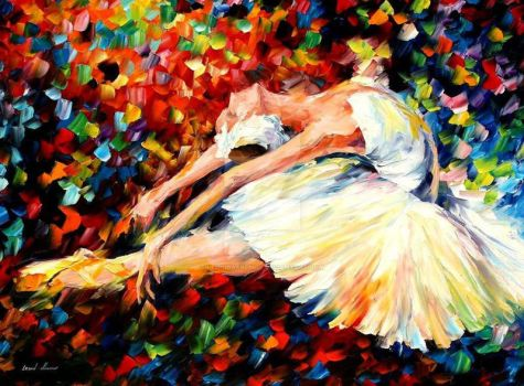 Thrill by Leonid Afremov by Leonidafremov