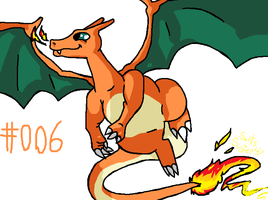 #006 Charizard by SaintsSister47