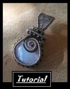 Woven Wire Pendant by BacktoEarthCreations