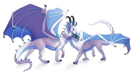 [C] Aerri and Athina by Scaleeth