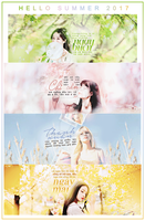 [ CLOSE ]SHARE PSD HELLO SUMMER !! by yiilala