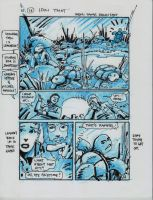IDW TMNT One Page Sixteen by Kevineastman