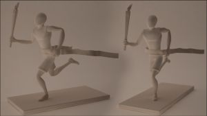 Olympic Runner Model by Squint911