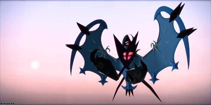 [MMD Pokemon] DOWNLOAD- Dawn Wings Necrozma by Kinishan