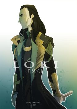 The Dark World : Loki by Nina-Serena