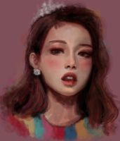 Jennie Kim fan art by morgyuk