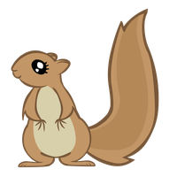 MLP Vectorized Squirrel by foxox